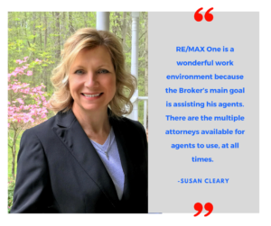 Susan Cleary Agent Testimonial
