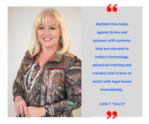 Keely Tolley- Agent Testimonial